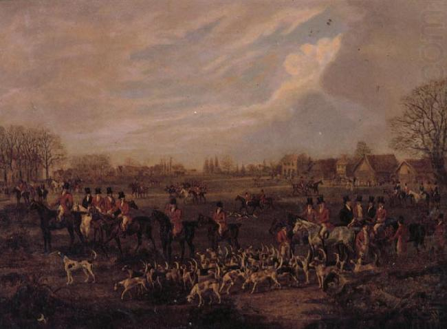The Essex Hunt,1831 A set of Four Paintings, Dean Wolstenholme