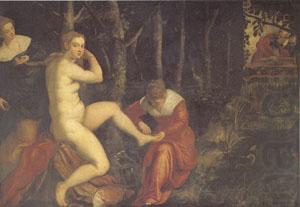 Suzanna at Her Bath (mk05), Jacopo Robusti Tintoretto