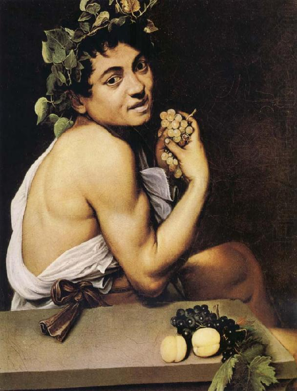The Young Bacchus Caravaggio Wholesale Oil Painting China ...